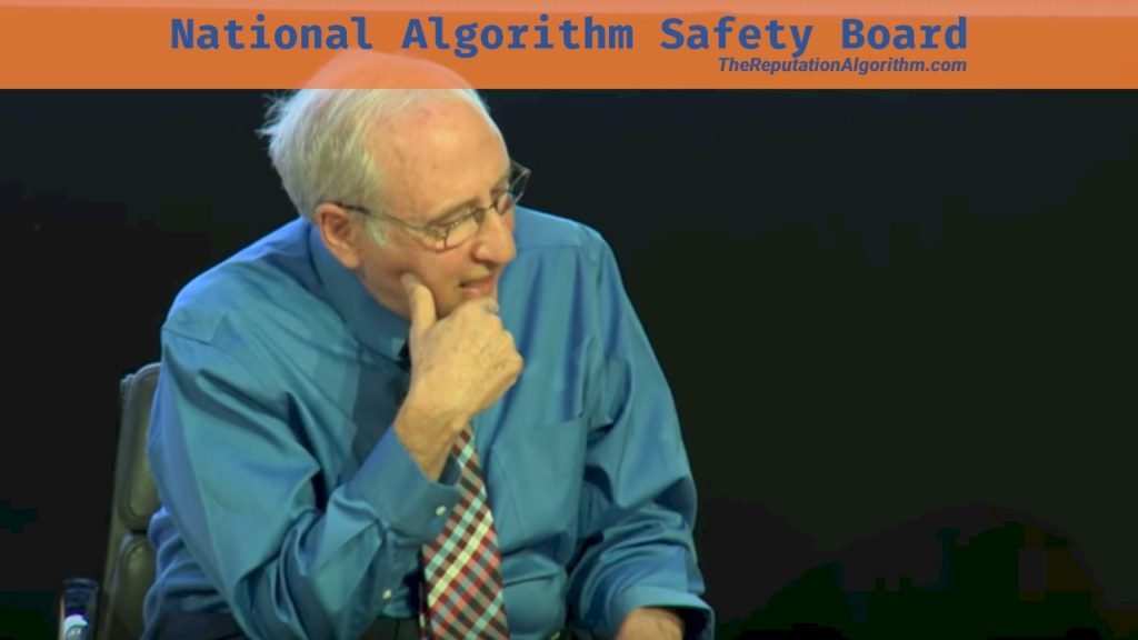 National Algorithm Safety Board