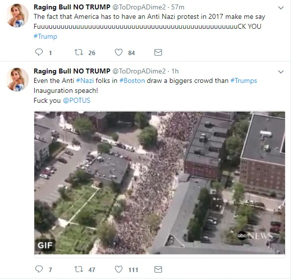 Screenshot: Twitter - Raging Bull Sensitive Media Unblocked